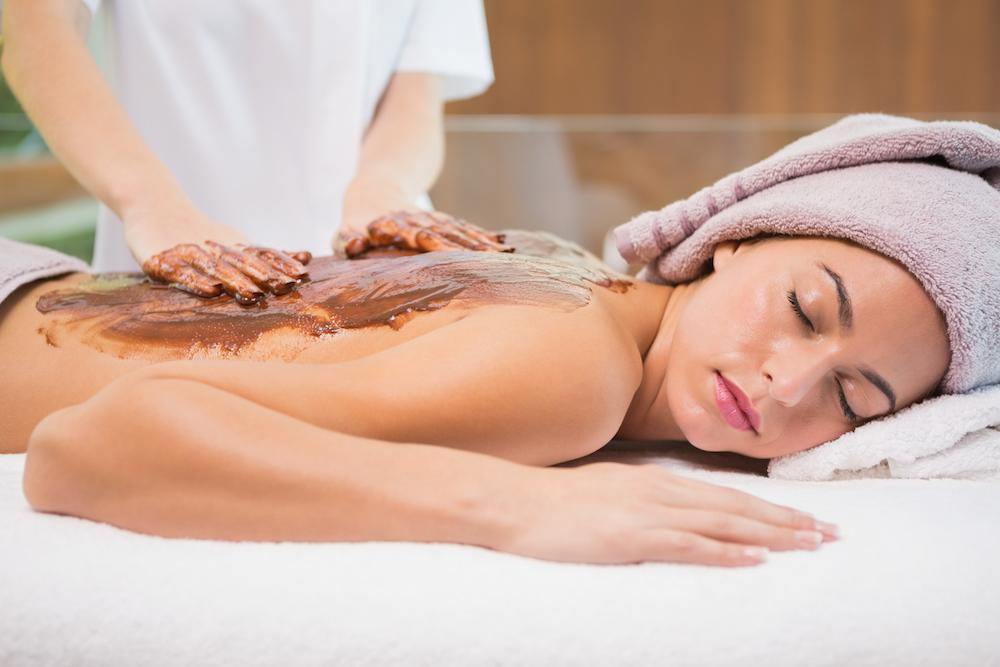 šokoladinis masažas